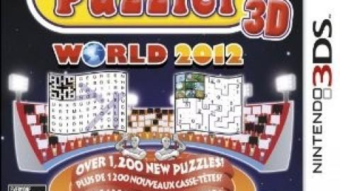 Puzzler 3D World 2012 (Nintendo 3DS)