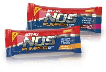 MET-RX NOS PUMPED ENERGY BAR