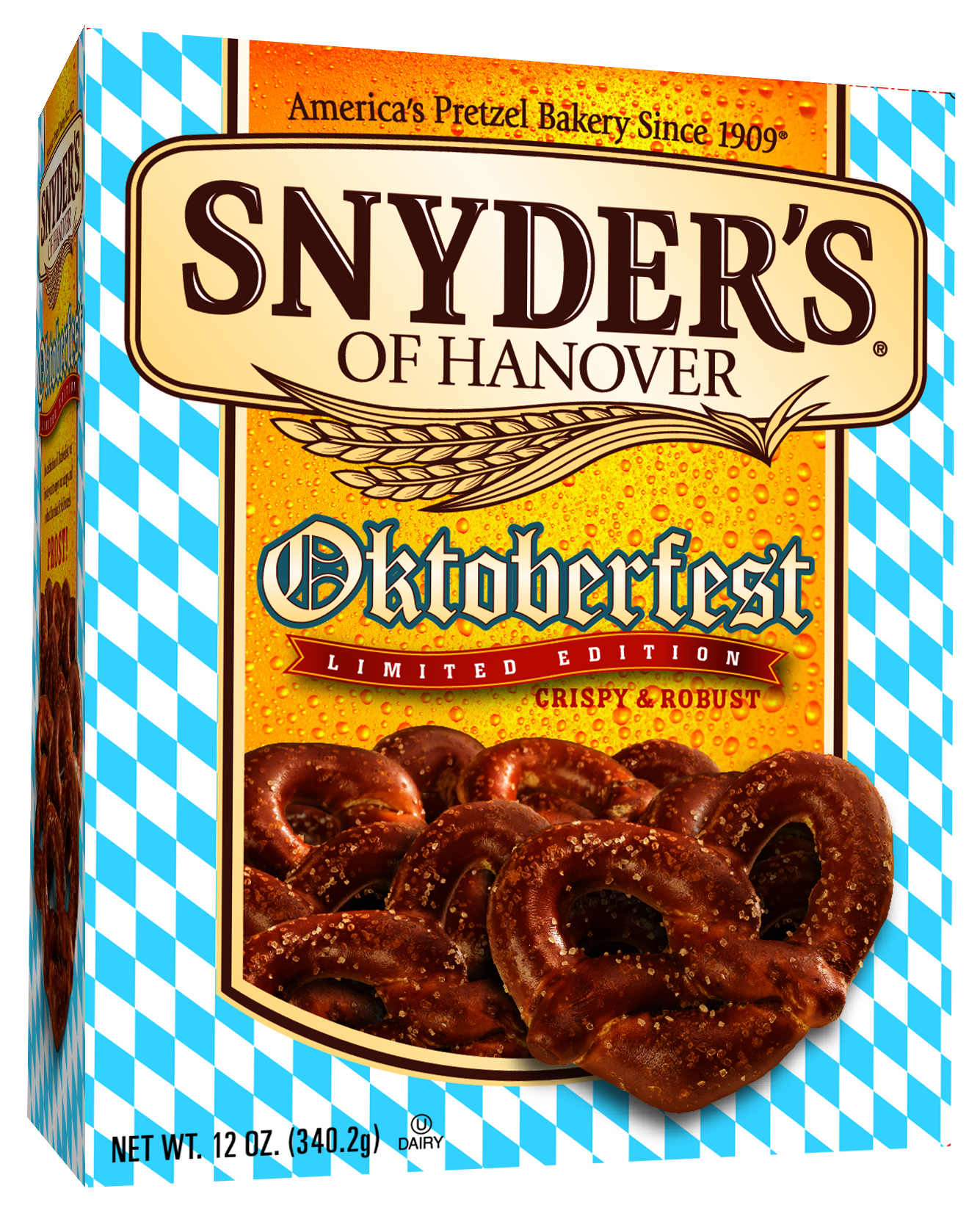 Snyder's of Hanover Oktoberfest pretzels – NeuFutur Magazine