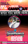 Pink Floyd / Grateful Dead Campout (7/17-18, Clay's Park and Resort)