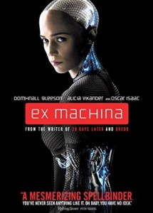 Ex Machina DVD review on NeuFutur