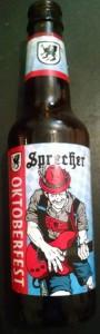 Oktoberfest (Sprecher Brewery) 2015 label
