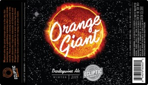 Orange Giant Barleywine Ale
