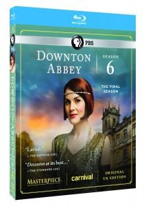 Downton Abbey Season 6 Blu-Ray Set