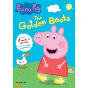 Peppa Pig: The Golden Boots DVD Review