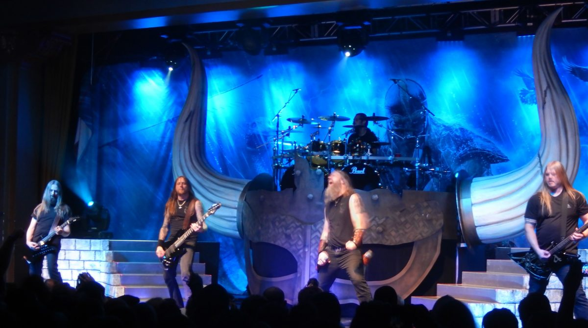 Amon Amarth / April 18, 2016 at The Ritz Ybor, Tampa, FL