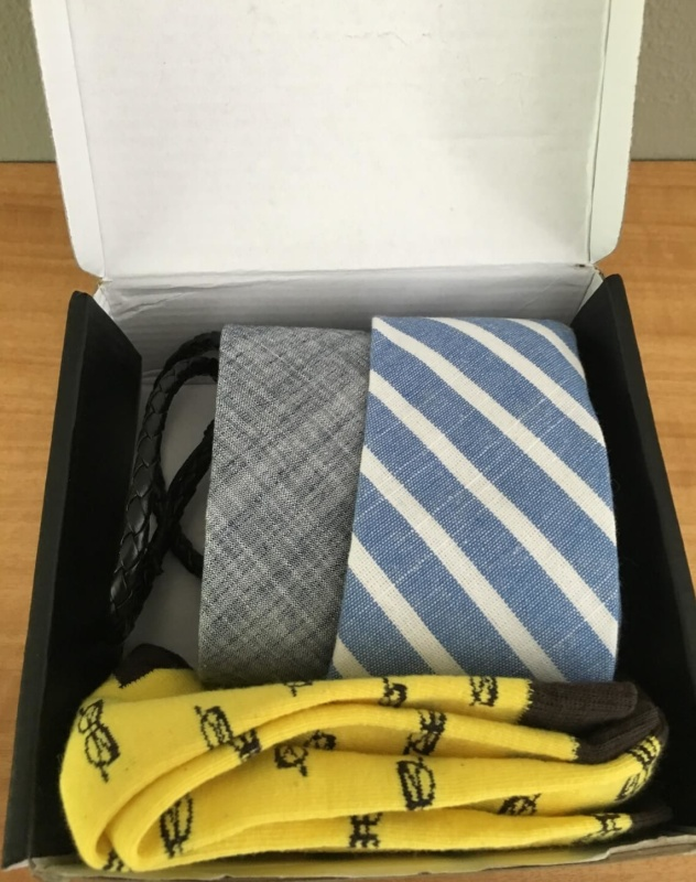 Picture of The Tie Fix Box used with respect to hellosubscription.com