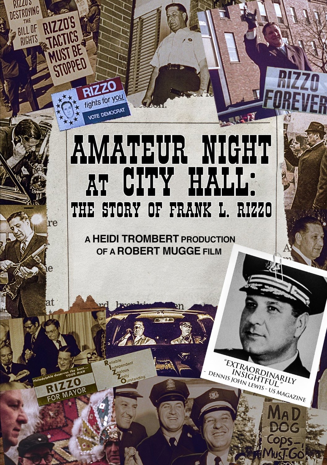 Amateur Night At City Hall: The Story of Frank Rizzo (DVD)
