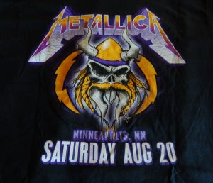 Metallica (Aug. 20, 2016, Minneapolis, MN) T-Shirt
