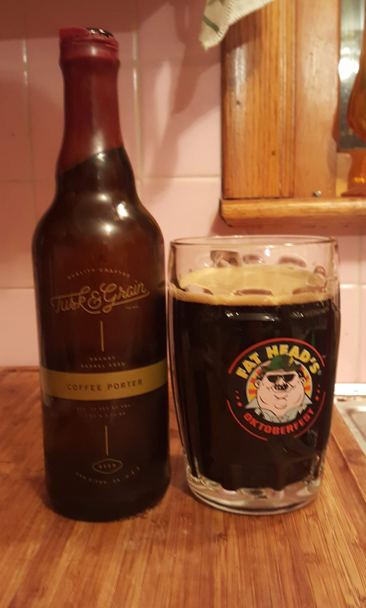 Brandy Barrel-Aged Coffee Porter (Tusk & Grain)