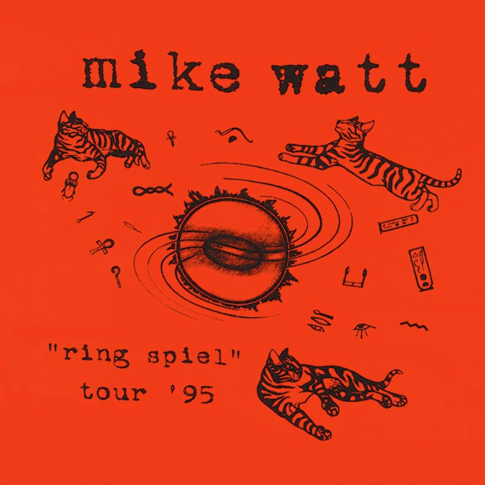 "Mike Watt – ""Ring Spiel"" Tour '95 (CD)"