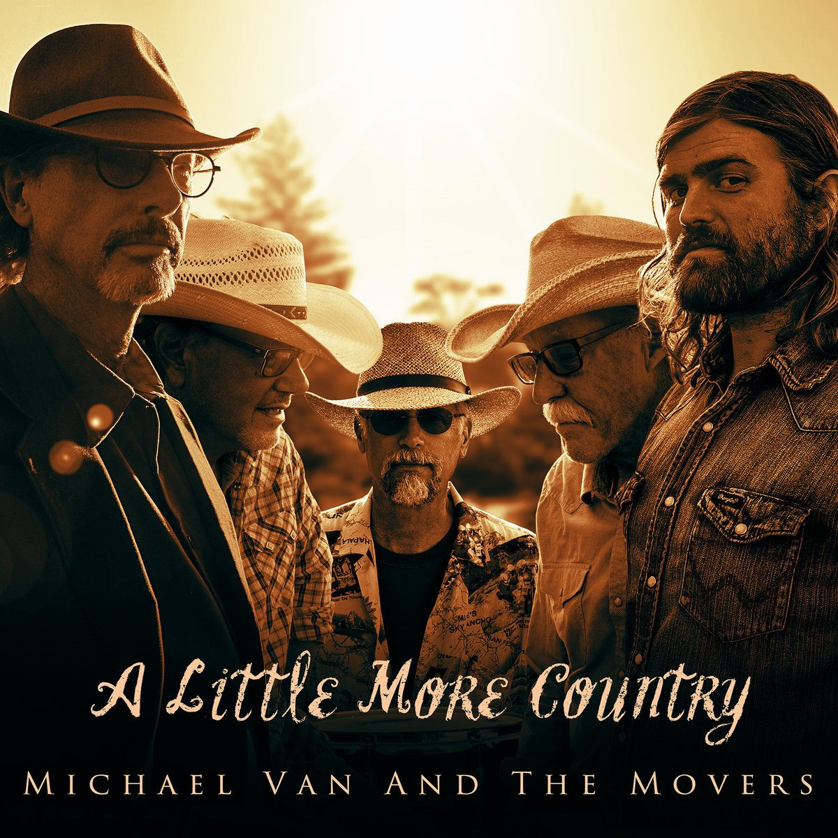 Michael Van and The Movers – A Little More Country