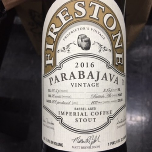 Parabajava 2016 (Firestone Walker)