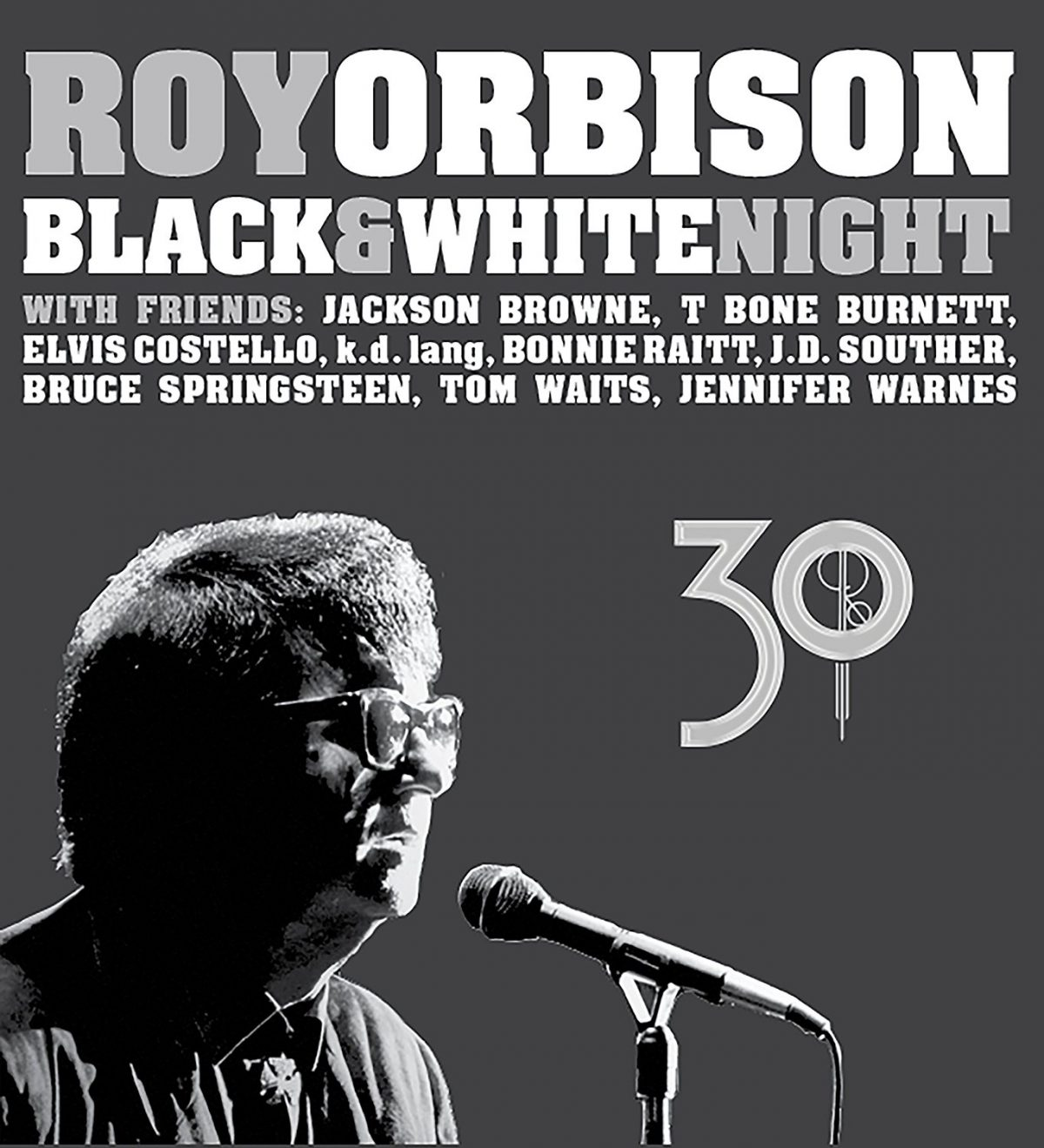 Roy Orbison – Black & White Night (CD and DVD)