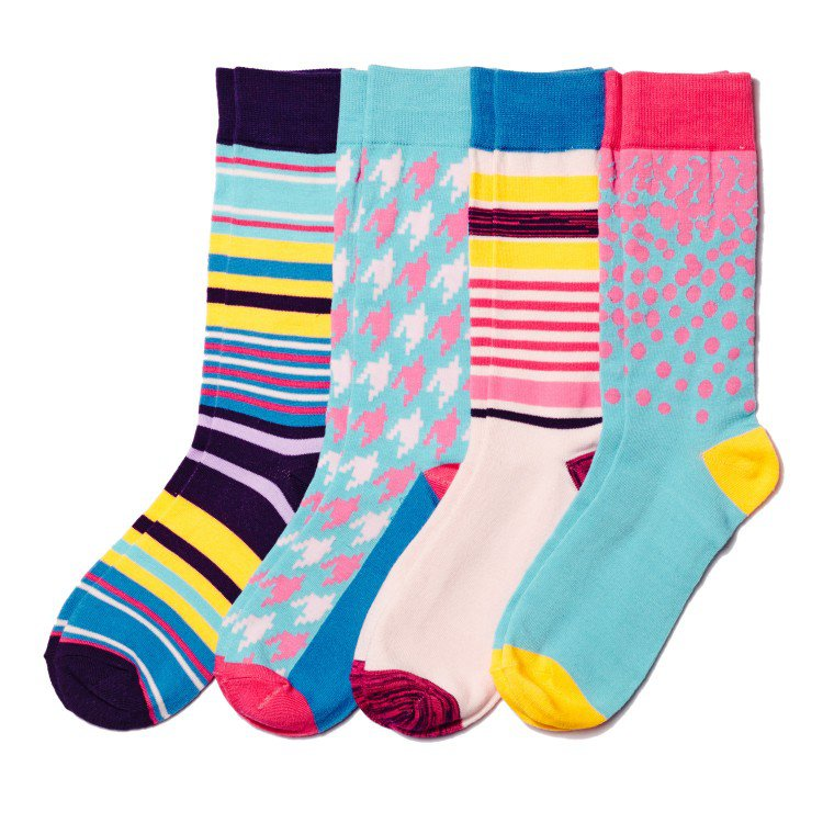 Basic Outfitters' Sock Line – Great Colors, Poor Quality
