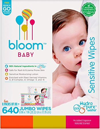bloom BABY Sensitive Wipes