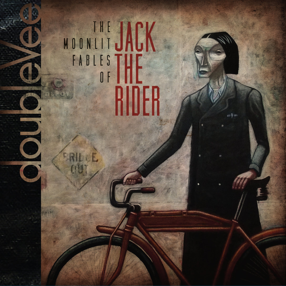 doubleVee – The Moonlit Fables of Jack the Rider (CD)