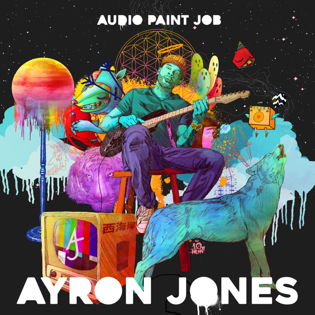 Ayron Jones – Audio Paint Job (CD)