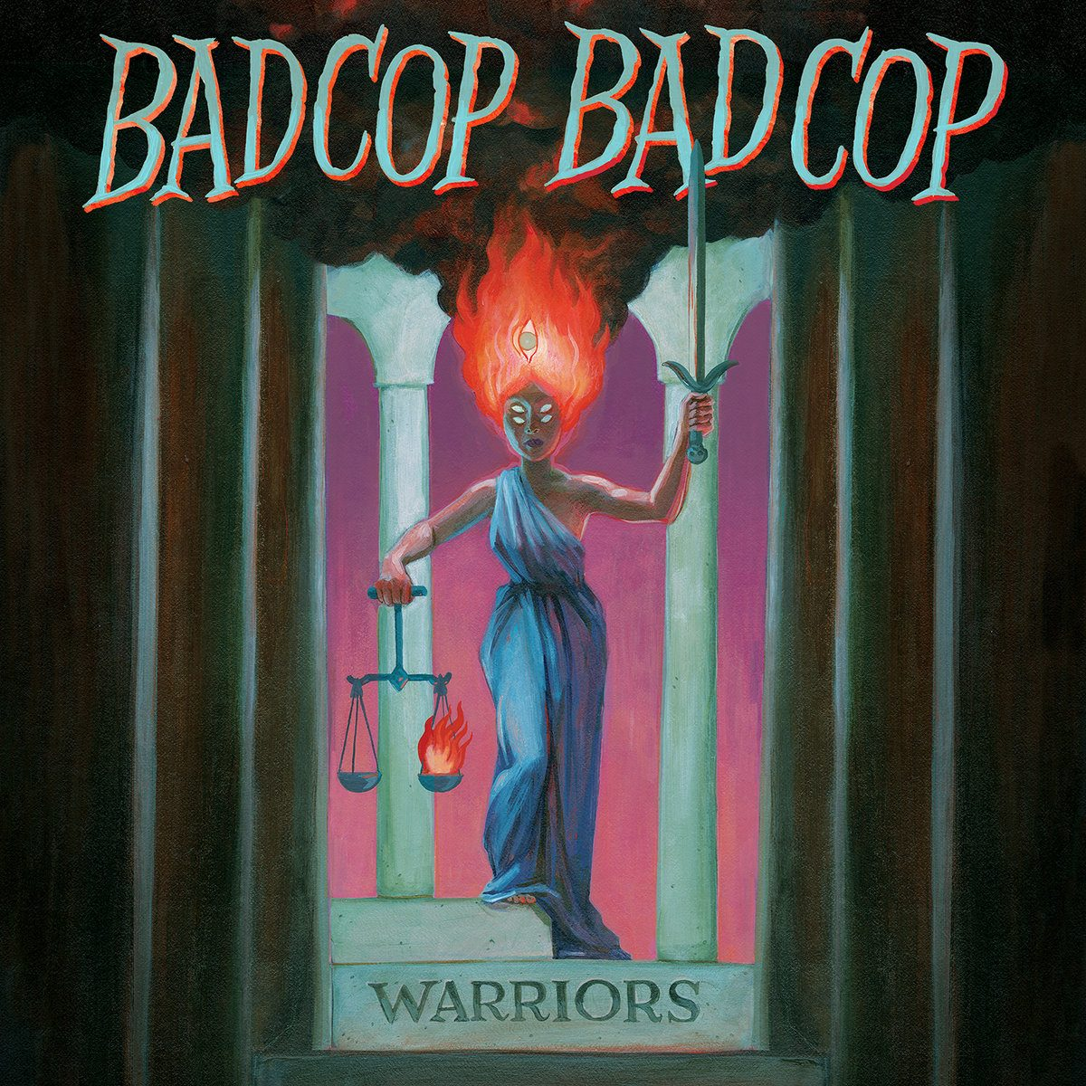 Bad Cop/Bad Cop – Warriors (CD)