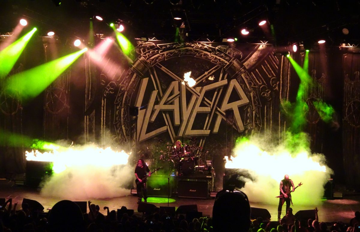 Slayer / Lamb of God (7/21; St. Augustine, FL)