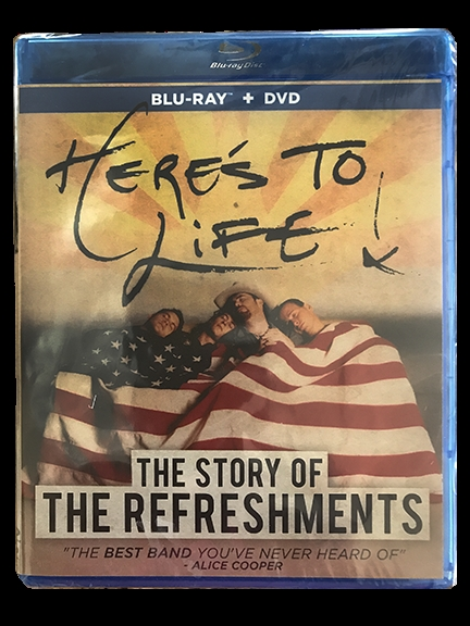 Here's To Life: The Story of The Refreshments (DVD)
