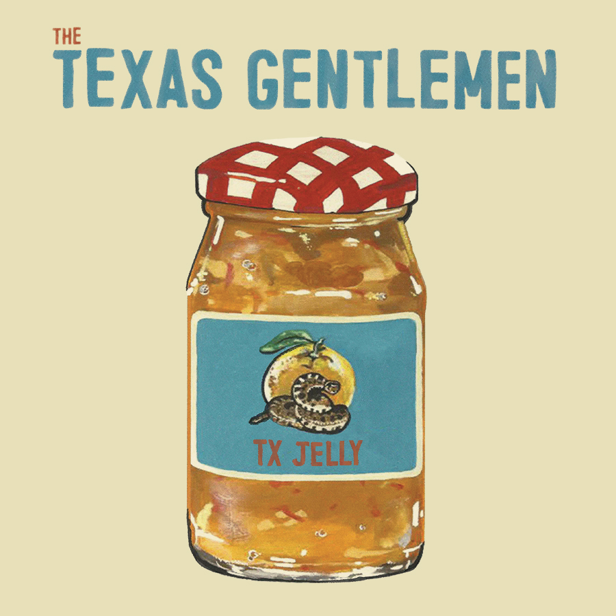 The Texas Gentlemen – Jelly (CD)