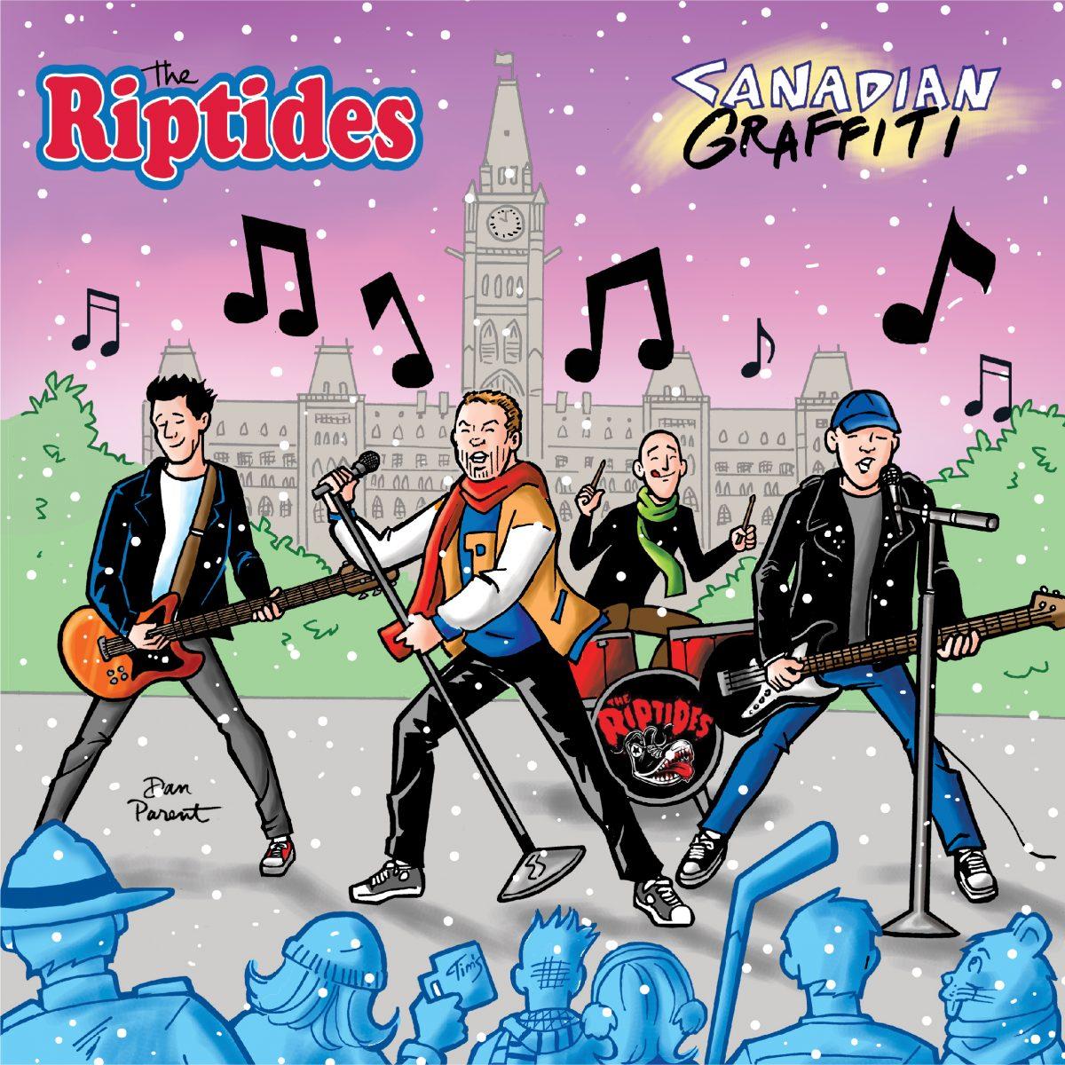 The Riptides – Canadian Graffiti (Vinyl)