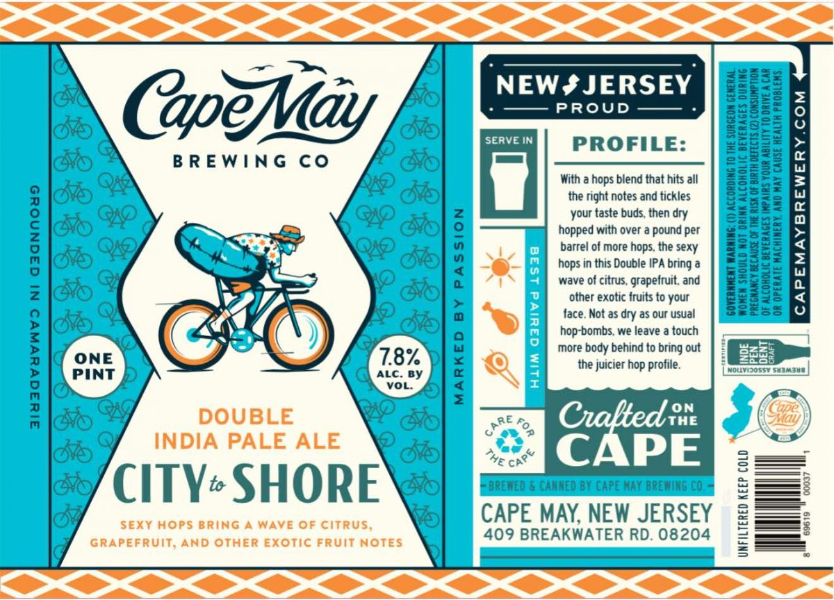 City to Shore (Cape May Brewing Company)