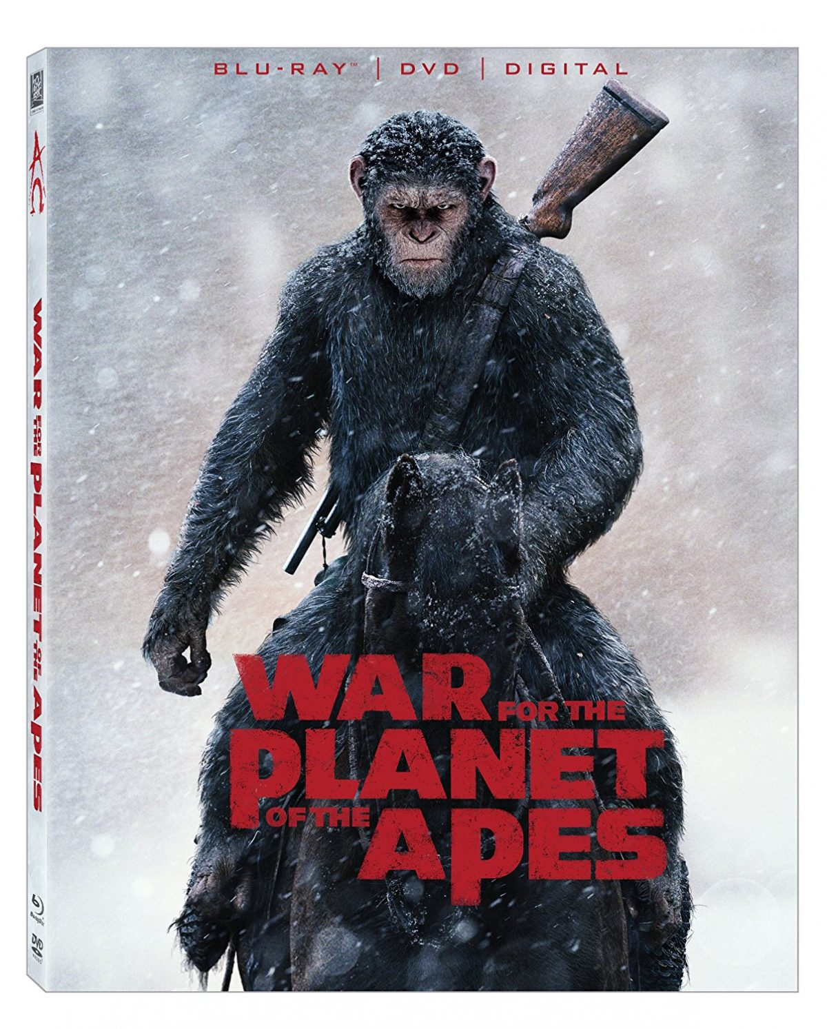 War for the Planet of the Apes (Blu-Ray / DVD)