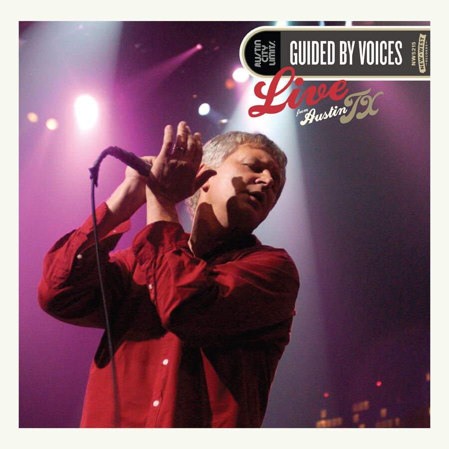 Guided By Voices – Live From Austin, TX (2CD/DVD combo andVinyl)