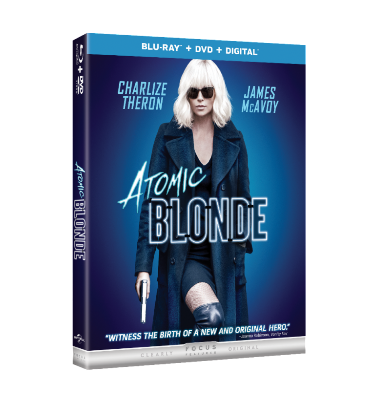 Atomic Blonde (Blu-Ray + DVD)