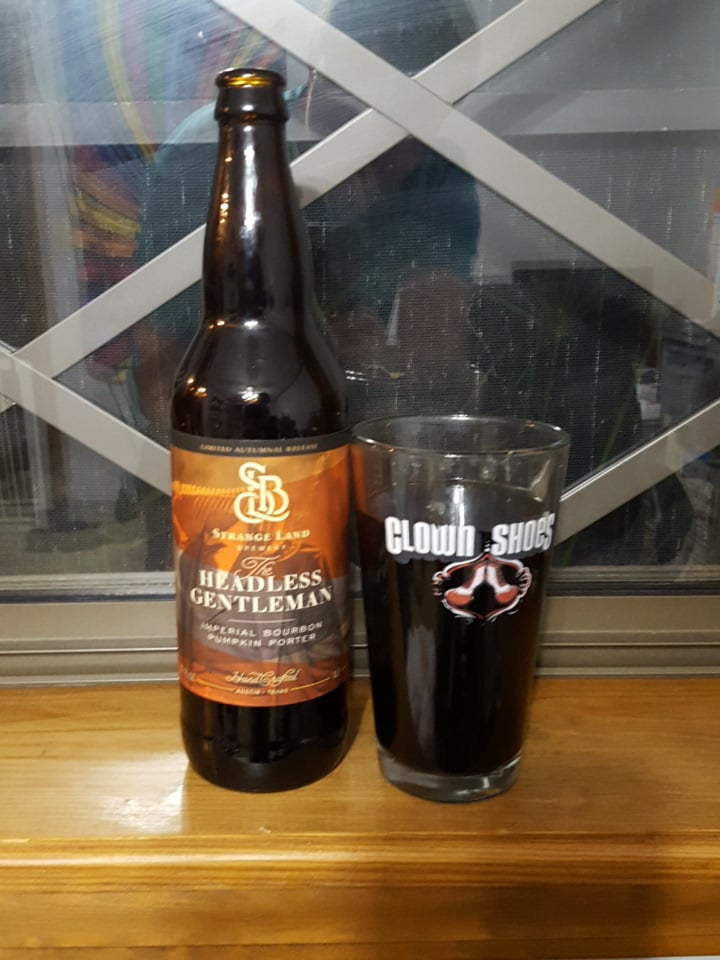Headless Gentleman (Imperial Bourbon Pumpkin porter)