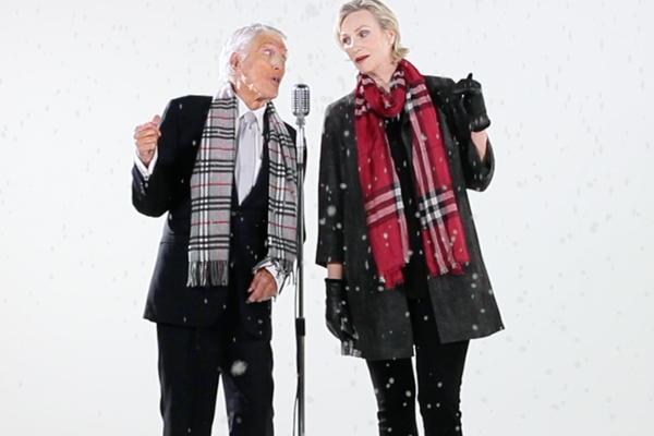"""Dick Van Dyke & Jane Lynch """"We're Going Caroling"""""""