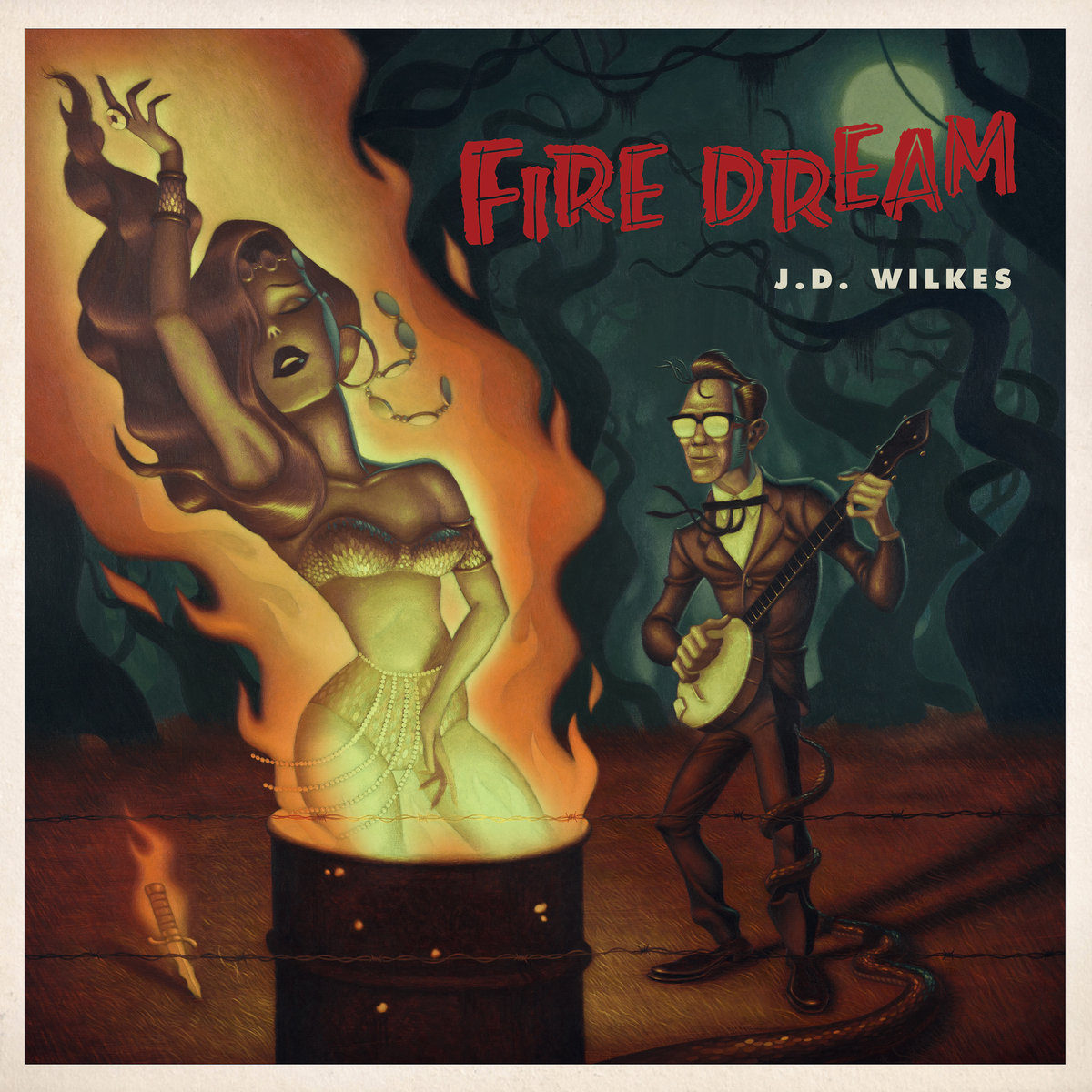 J.D. Wilkes – Fire Dream (CD)