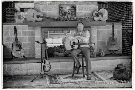 Bill Abernathy's new album Crossing Willow Creek