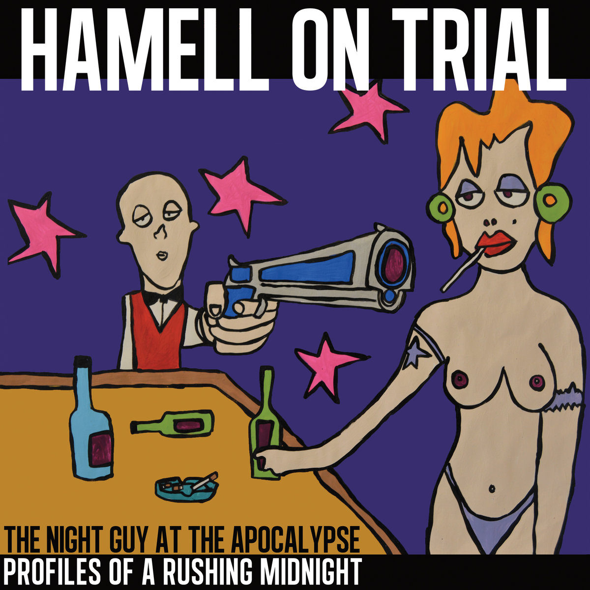 Hamell On Trial – The Night Guy at The Apocalypse: Profiles of a Rushing Midnight (Vinyl)