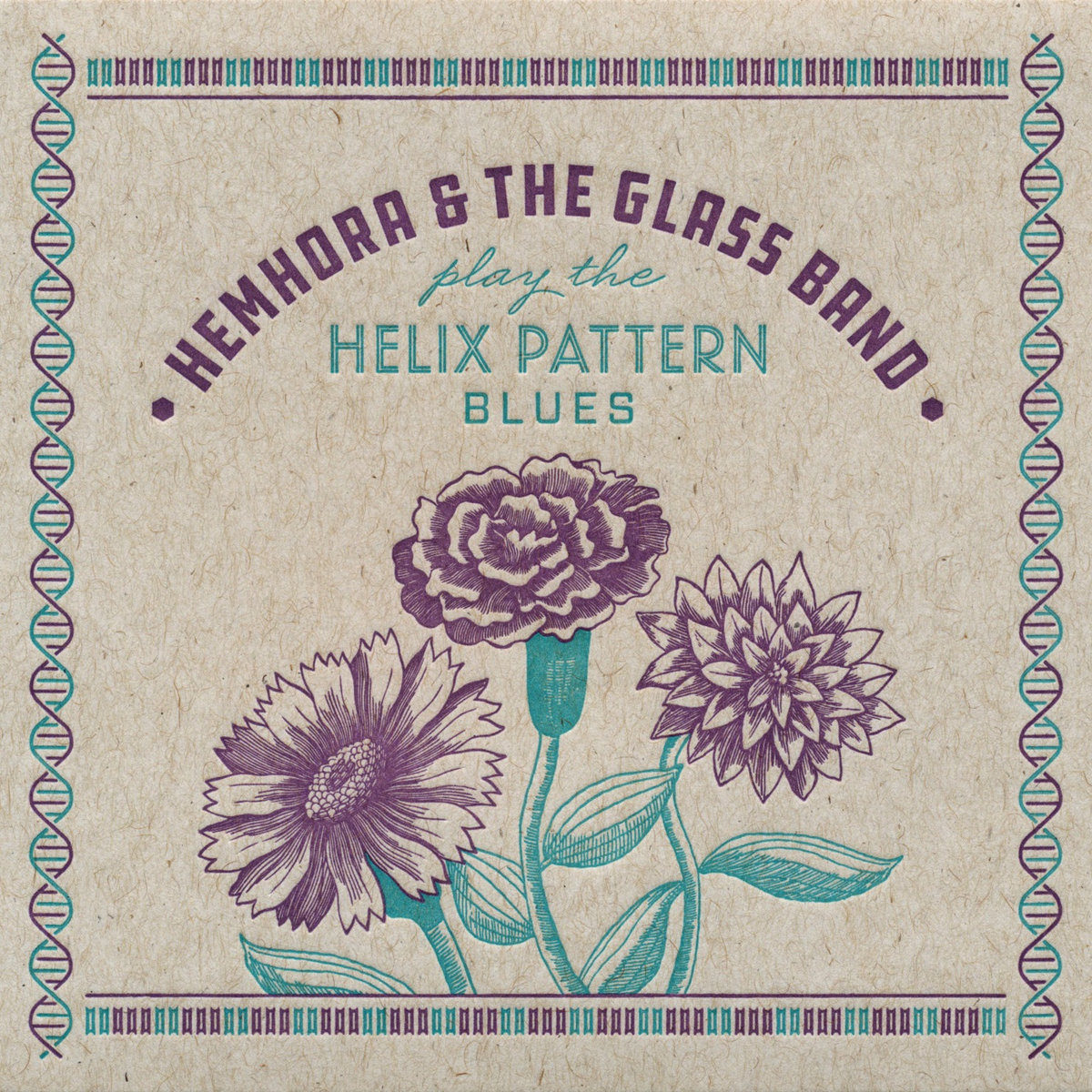 Hemhora and the Glass Band drop Helix Pattern Blues EP