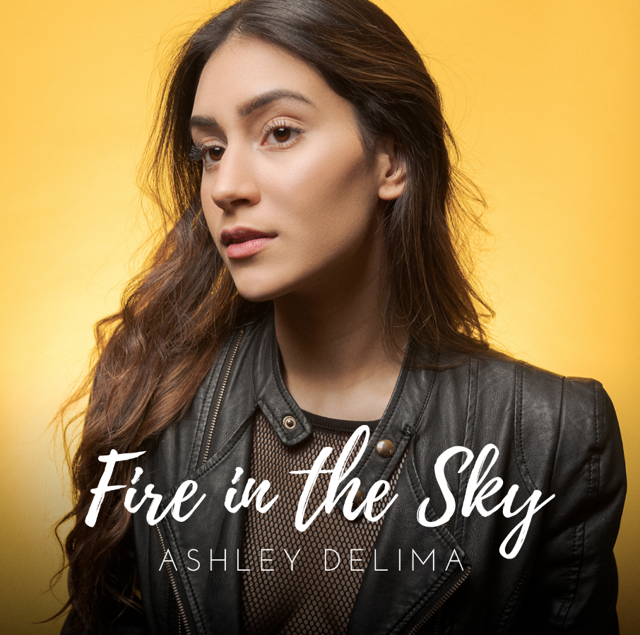 """Ashley Delima returns this spring with her latest single """"Fire in the Sky"""""""