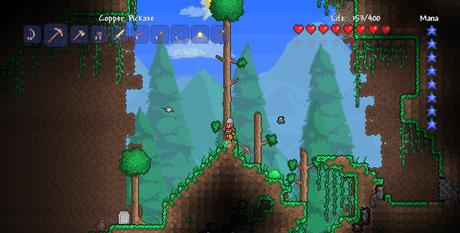 Terraria on Xbox Live Arcade